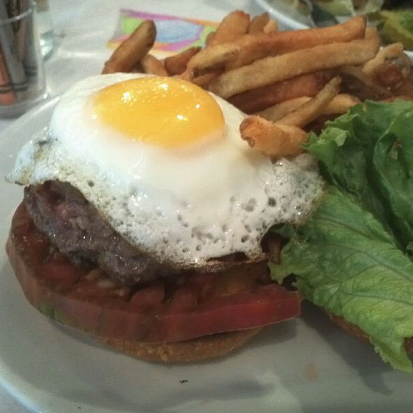 Hamburger @ Egg