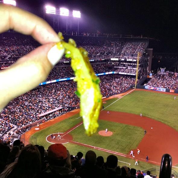 Garlic Fries @ AT&T Park