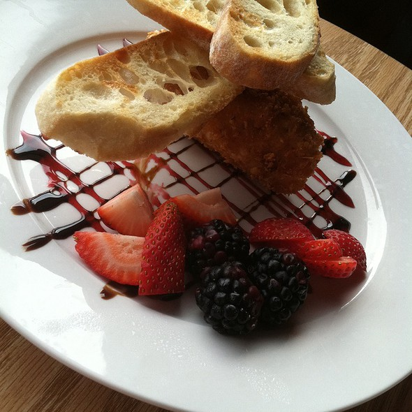 Nut-Crusted Brie @ The Vault