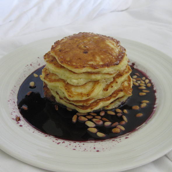Lemon Ricotta Pancakes @ Solbar