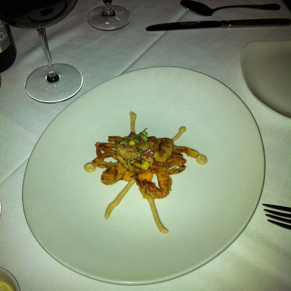 Soft Shell Crab @ Mise En Place Restaurant