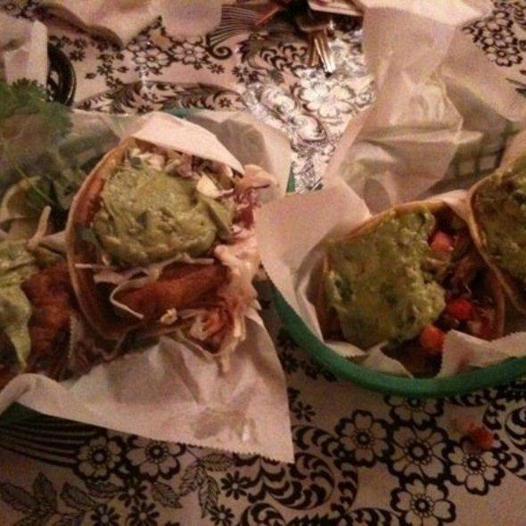 Nick's Baja-Style Fish Tacos @ The Taco Shop at Underdog's