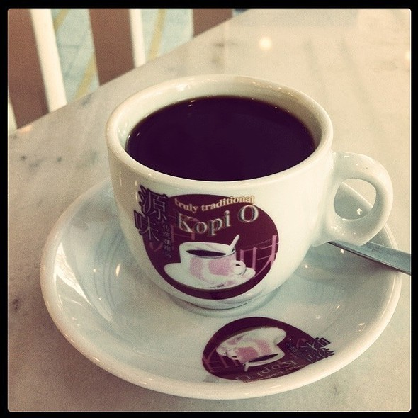 Black Coffee @ Good Morning Nanyang Cafe 早安南洋 (Sembawang)