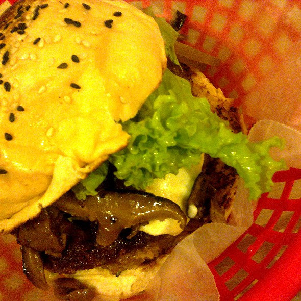 Angus Beef Burger @ The Burger Project