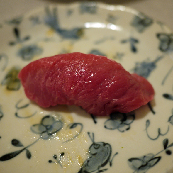 Blue Fin Tuna Nigiri @ Hotaru Japanese Restaurant