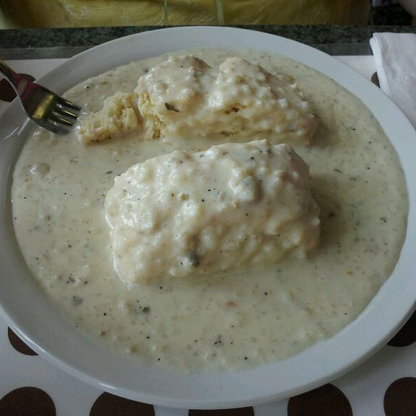 Sausage And Gravy Biscuit @ Liza's Kitchen Restaurant - Cafe & Catering