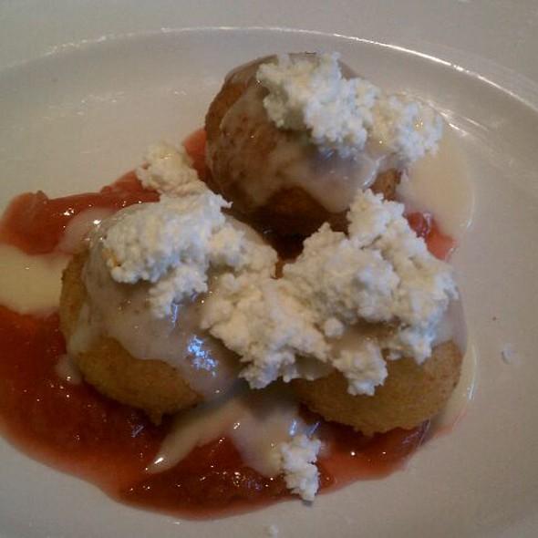 Ricotta Doughnuts @ Encore Restaurant