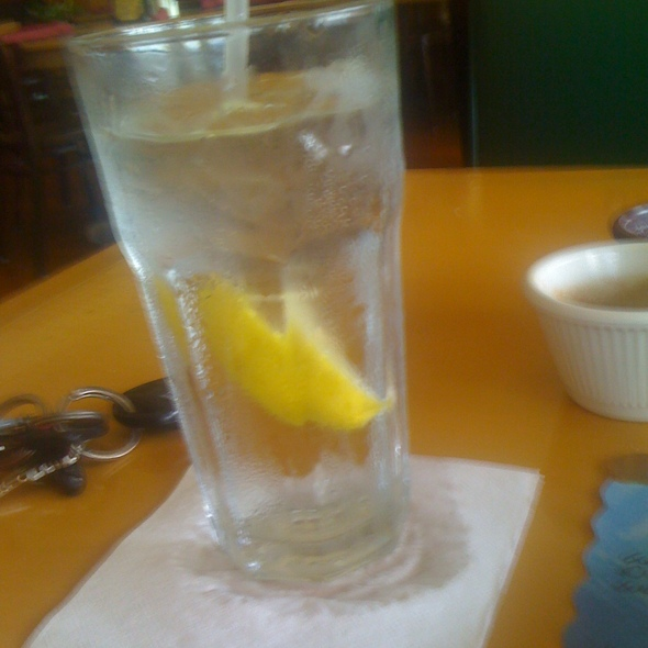 Glass Of Water @ Tipico Cafe