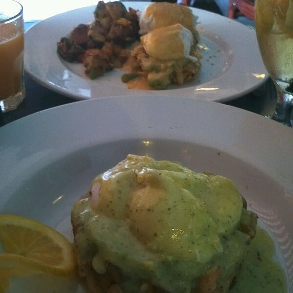 Crab Cakes Benedicto @ Yuca Bar & Restaurant