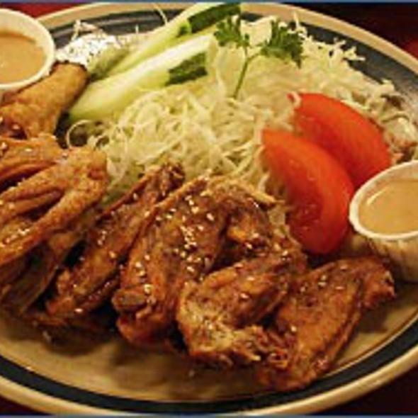 Teba-Saki Chicken Wings @ Furaibo