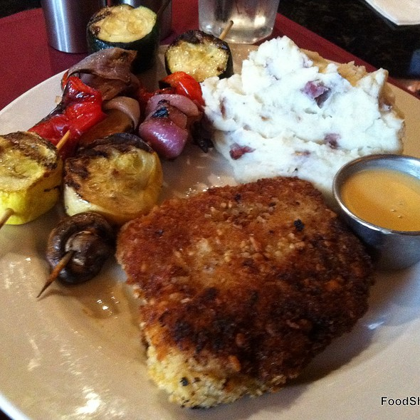 Macadamia Nut Crusted Mahi Mahi @ Rock Fish Restaurant