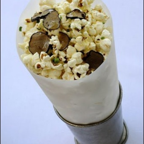 Popcorn With Truffle And Parmesan Cheese