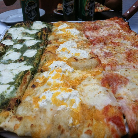 Flag Pizza  @ Joe Squared Pizza & Bar