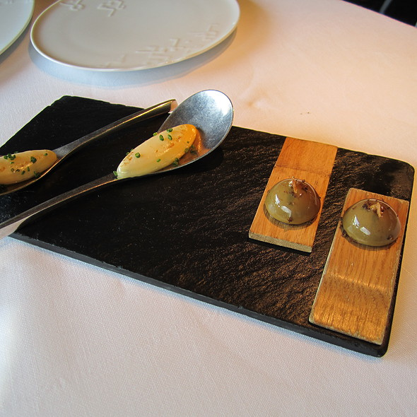 foie / olive oil @ El Celler de Can Roca