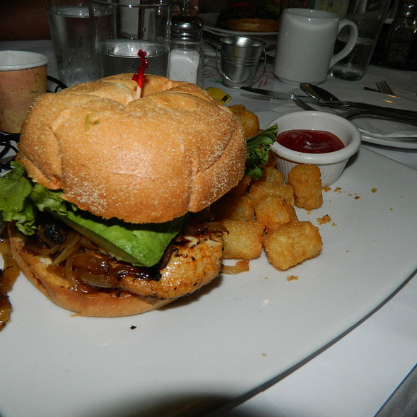Chicken Sandwich - Tonic Restaurant @ Quigley's Pharmacy, Washington, DC