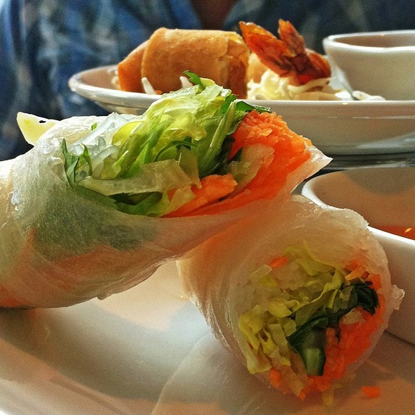 Thai Basil Roll - Nan Thai Fine Dining, Atlanta, GA