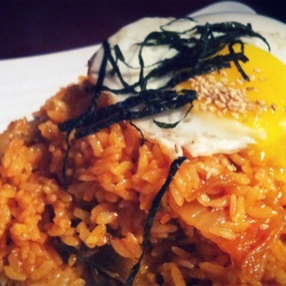 Kim Chee Fried Rice @ Spot Restaurant the