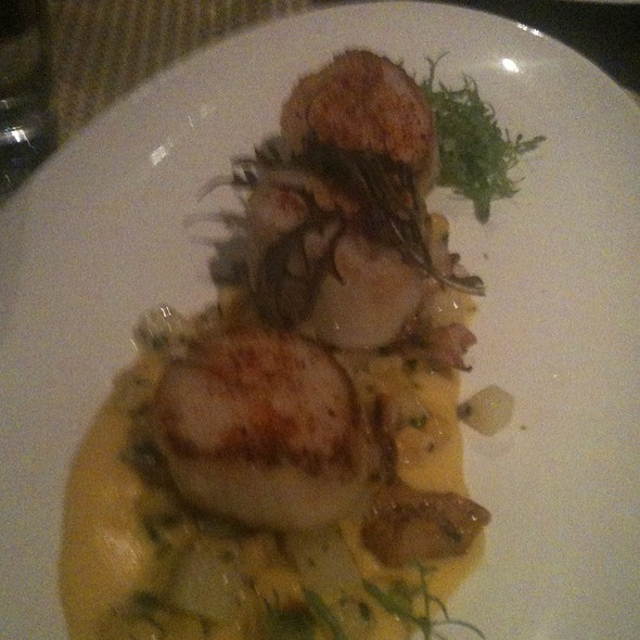 Scallops @ Brix Restaurant