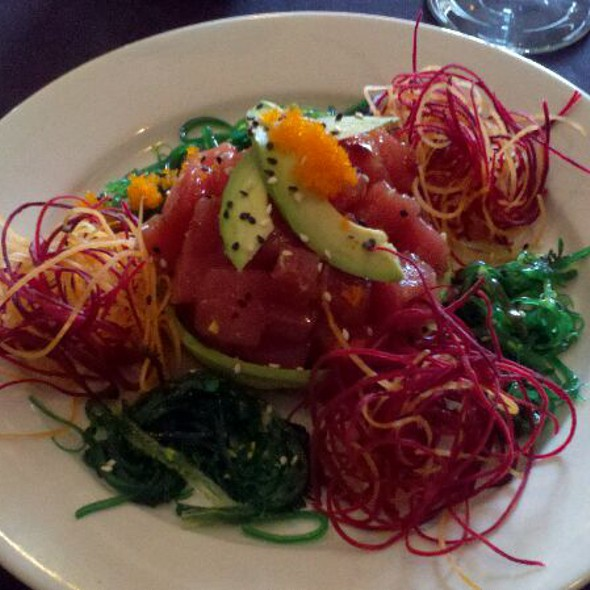 Tuna Poke And Avocado Salad @ A La Carte Cafe Carryout & Catering
