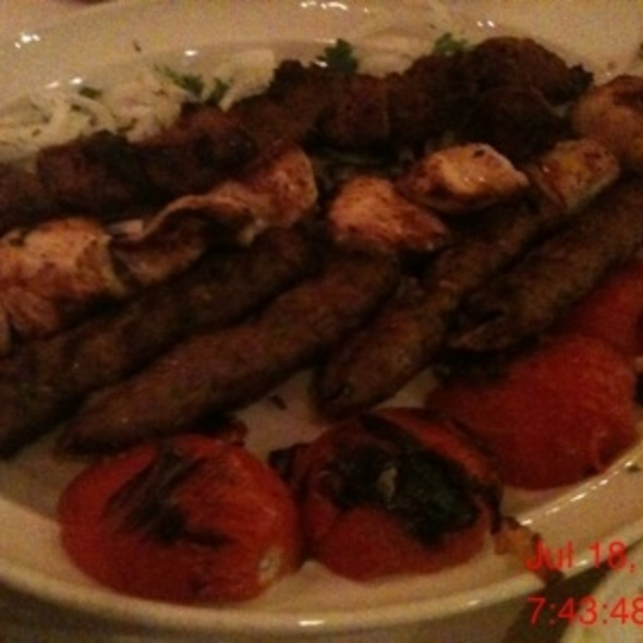 Grilled Kabobs @ Carousel
