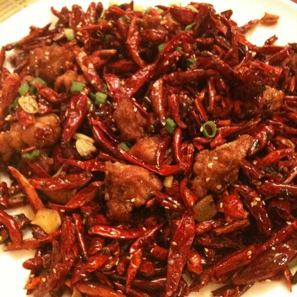 Chicken With Exploding Chili  @ Z & Y Restaurant