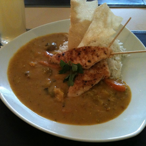 Chicken Curry (Indian Style) with Rice @ Leichtsinn