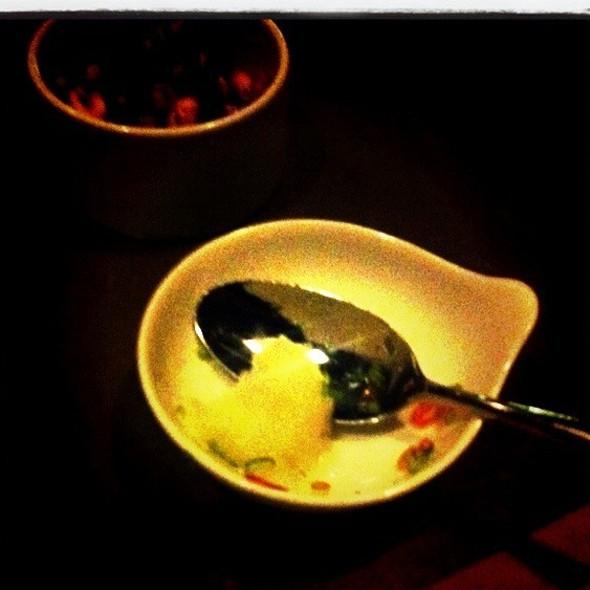 Fish Sauce Sorbet @ Uchiko