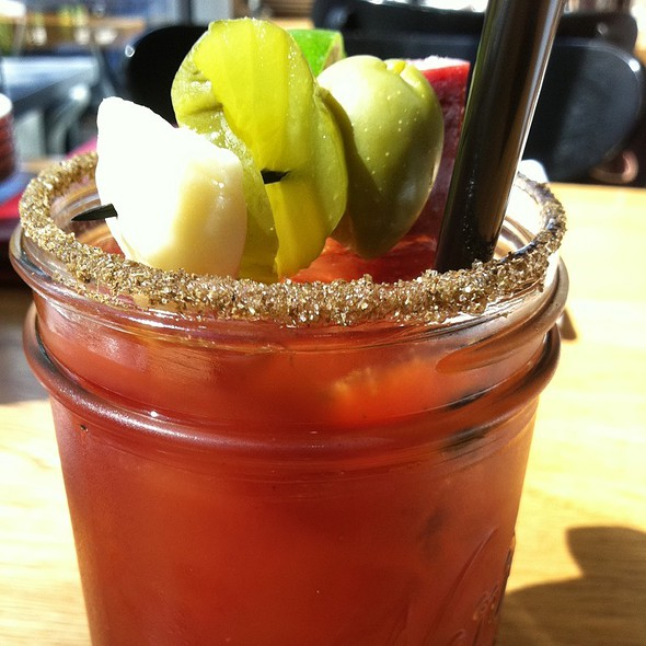 Bloody Mary @ Burger Jones