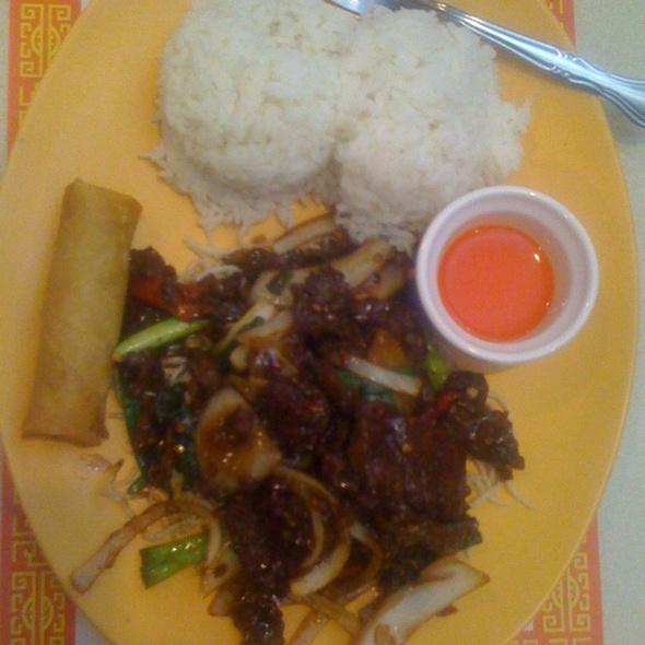 Mongolian Beef - Chen's Village, Seattle, WA