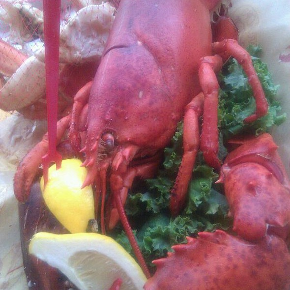 Venus Platter @ Barking Crab Restaurant