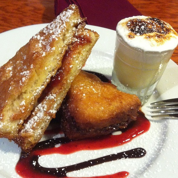 Deep Fried Pb&J @ Our House Bistro