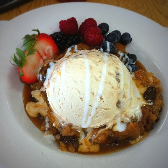 Rum Raisin Bread Pudding @ Rex's Seafood Market