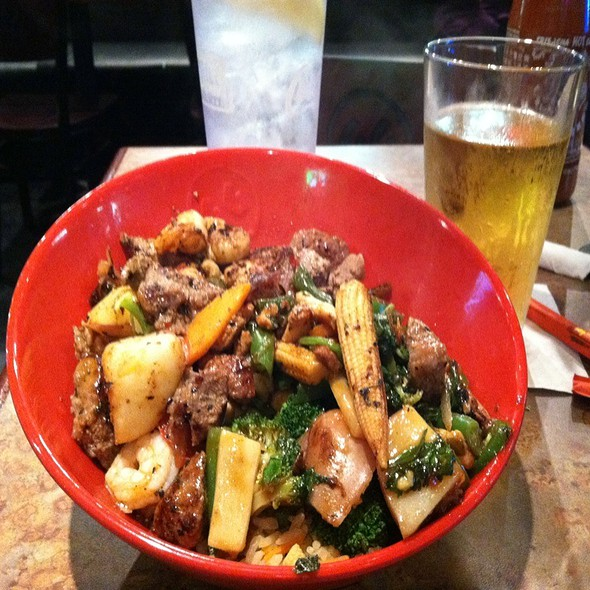 Stir Fry @ Genghis Grill - The Mongolian Stir Fry
