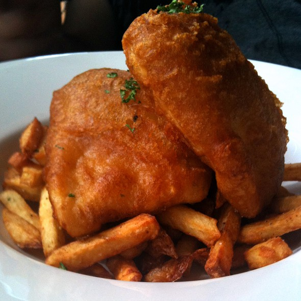 Queen Charlotte Halibut and Chips - The Beach House, West Vancouver, BC