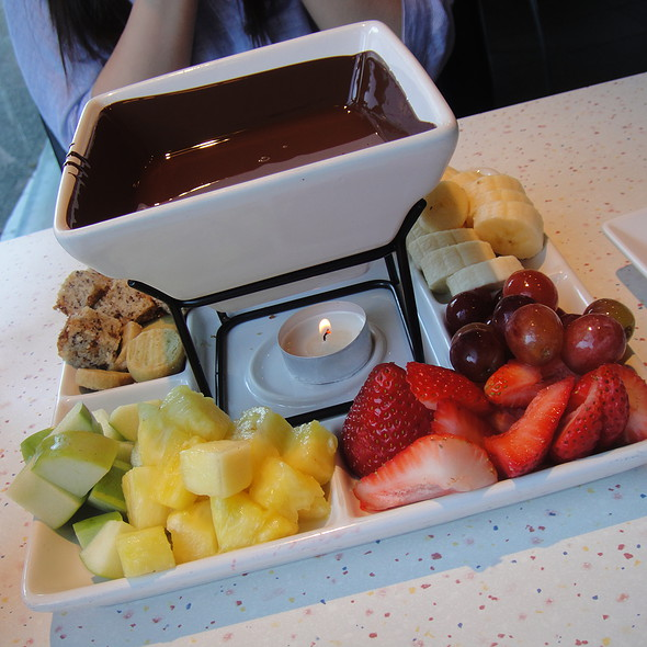 Chocolate Fondue All you Can Eat