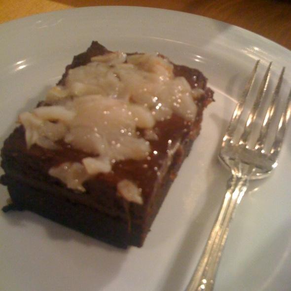 Lychee Flourless Chocolate Cake - Benihana at Fairmont Royal York, Toronto, ON