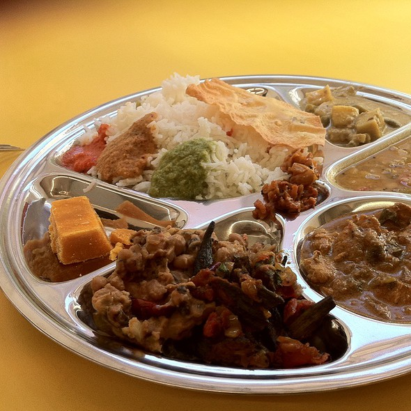 Indian Lunchtime Thali