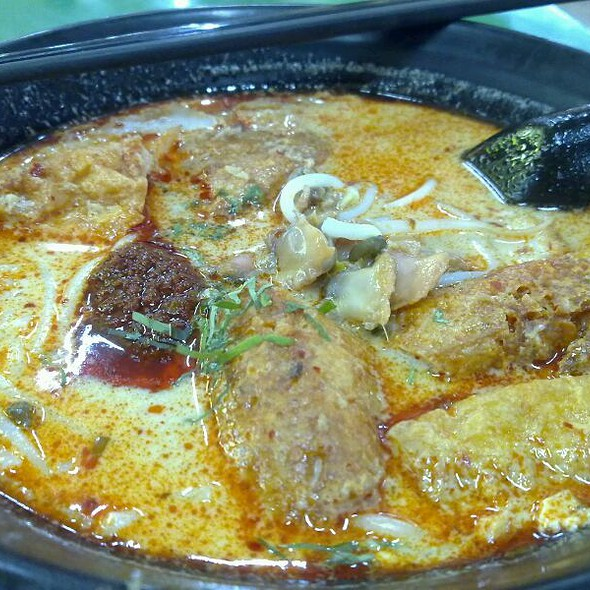 laksa @ Fa Ji Minced Meat Fishball Noodles