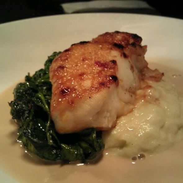 Maple Miso Chilean Sea Bass - Bazin's on Church, Vienna, VA