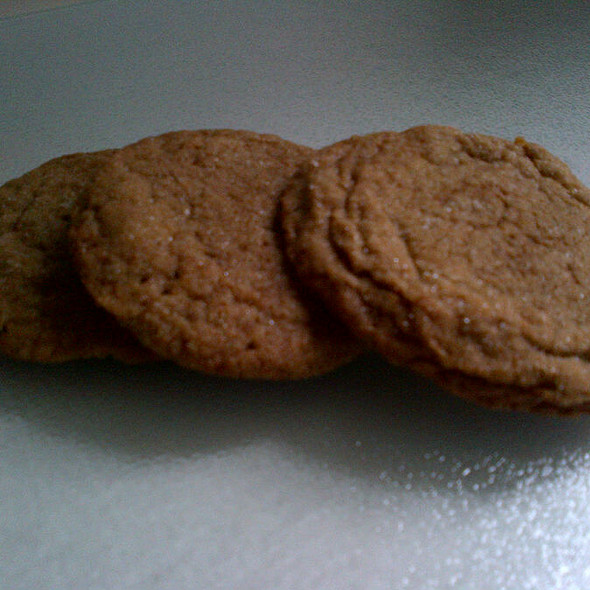 Ginger Snap Cookie @ Eddies Sweet Shop