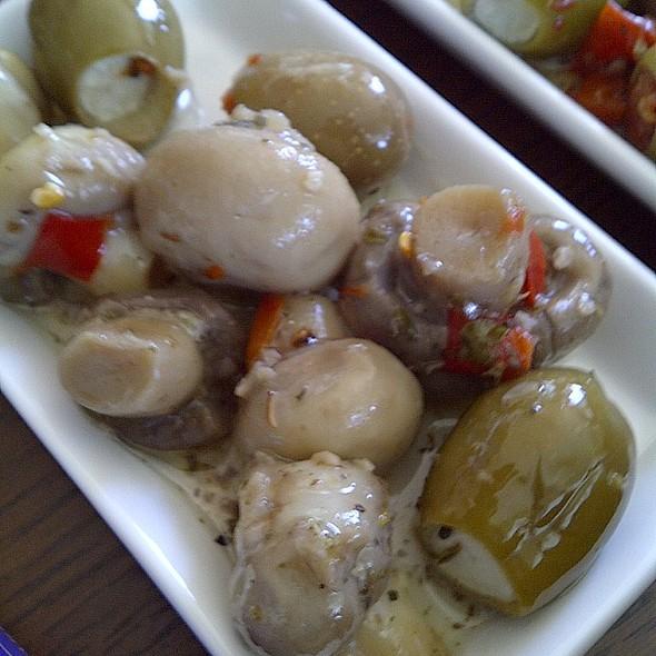 Marinated Mushrooms & Olives @ Safeway