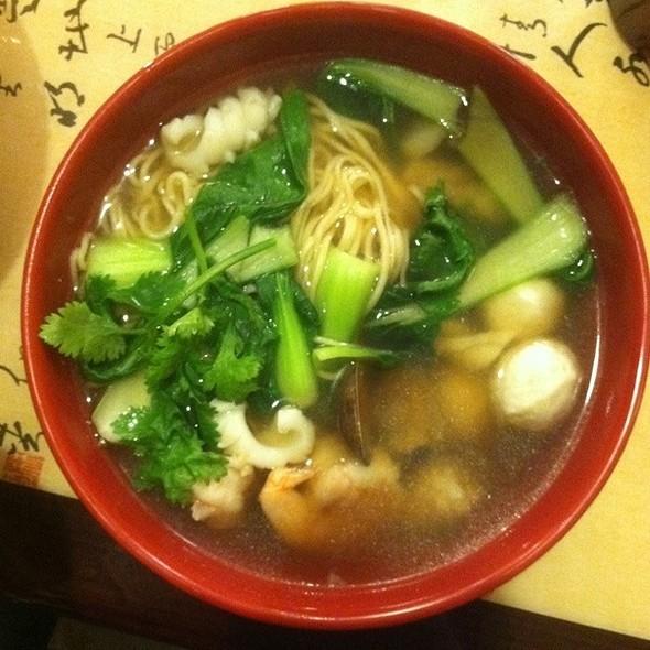 Seafood Noodle Soup @ Nan Zhou Hand Drawn Noodle House