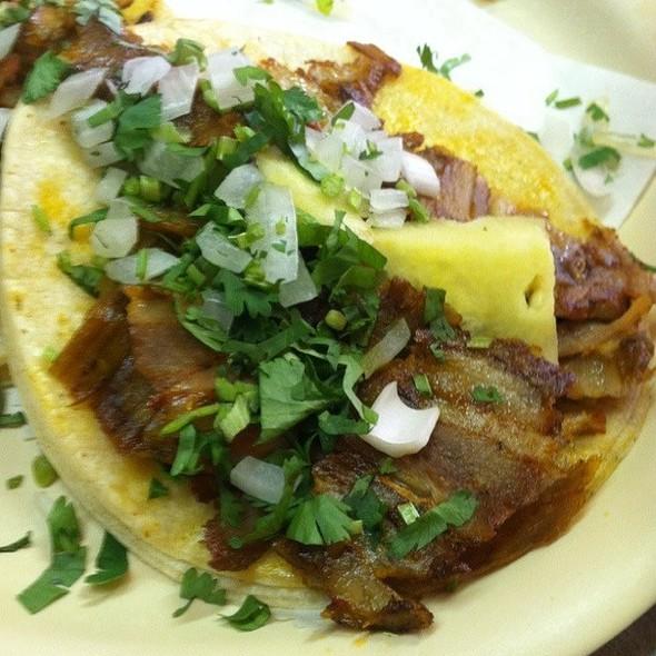 Tacos al Pastor @ Los Taquitos de Puebla Restaurant