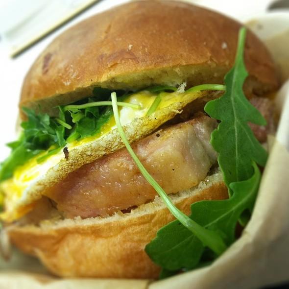 The Belly Sandwich @ Bacon Bacon Truck