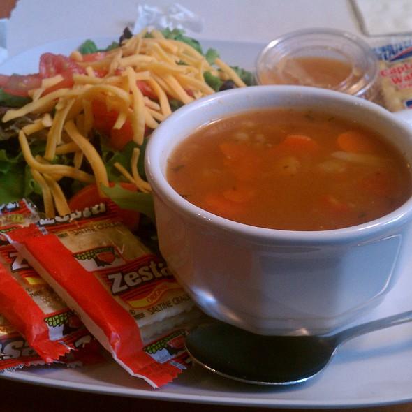 Soup And Salad @ JK's Cafe