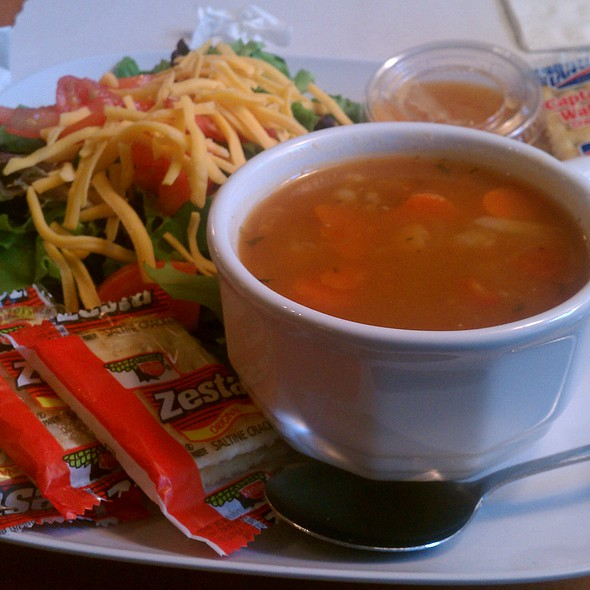 Soup And Salad @ JK's Cafe