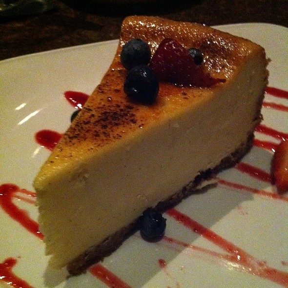 Creme Brulee Cheesecake @ Firebird's Rocky Mountain Grill