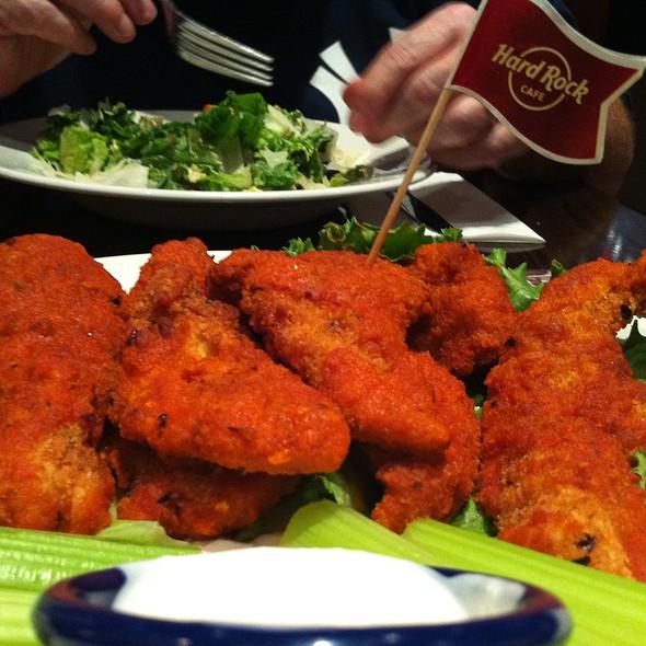 Buffalo Chicken Tenders @ Hard Rock Cafe