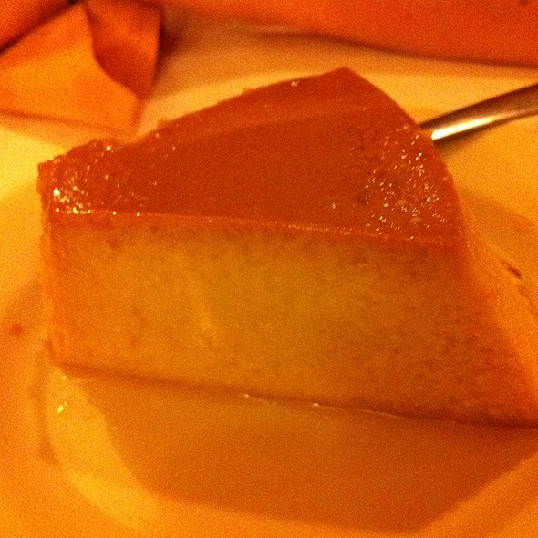 Flan @ Copacabana Brazilian Steak House
