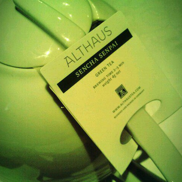 Althaus Tea @ Zing Restaurant